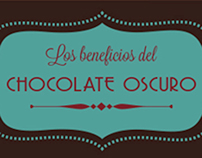 Los beneficios del Chocolate Oscuro / Dark Chocolate