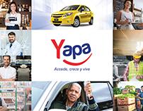 Empresa financiera Yapa: Fotomontajes y publicidad