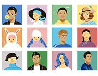 Portraits for GQ magazine