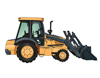Heavy Machinery Illustrations