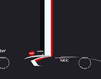 Sauber F1 - 2013 C32 Formula 1 Race Car