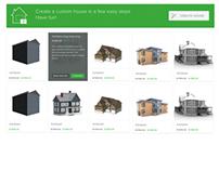 3D House Configurator