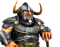 Dwarf blacksmith and warrior