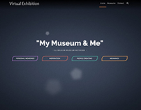 Website for Virtual Exhibition