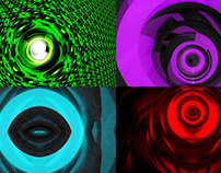 Radial Pulse - VJ Loop Pack (5in1)