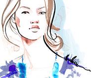 Painterly Beauty and Fashion