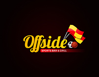 Suggested Logo for Offside Sports Bar & Grill