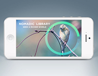 Nomadic Library: Search & Discovery App