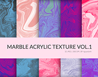 Marble Acrylic Texture Vol.1