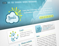 Nuvola Base // Web design