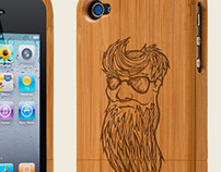 Wooden iPhone cover designs