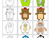 Design de Doudous / plush toys design