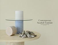 Contemporary Seashell Tadelakt: Material Research