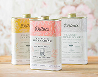 Dillon's Cocktail Syrups Package Design