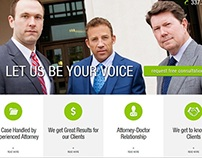 Brandt & Sherman, LLP Website Project