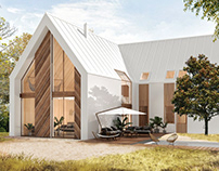 Rendering of The Freedom House