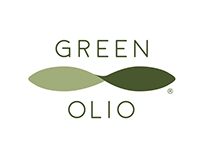 GREEN OLIO logo and packaging