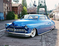 Mercury Lead sled 1950