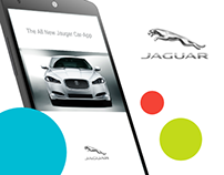The All New Jaguar Car-App #MadeWithAdobexD