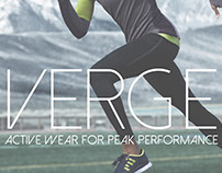 "Verge Activewear: ""Near Future Technology"" Concept"