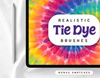Procreate Realistic Tie Dye Brushes By: Nurmiftah