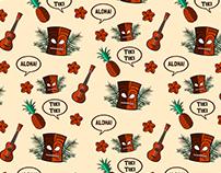 Tiki Bar Branding