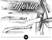 MERLIN, by Rolls-Royce (Short)