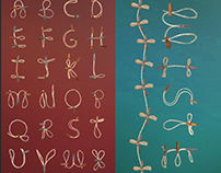 Twine Gothic (Found Object Typeface)