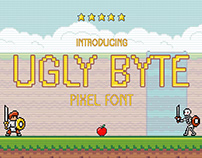 Ugly Byte – Pixel Font