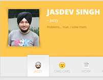 singh.am Website Design
