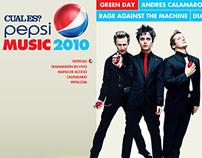 PEPSI MUSIC 2010
