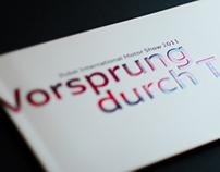 Audi Motorshow Brochure