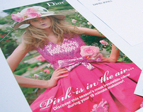 Dior 'Cherie' brochure for DAVID JONES