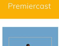 premiercast.net Web Design, development and publish