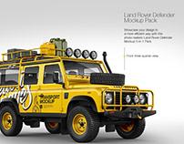 Land Rover Defender Mockup