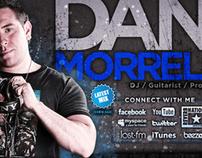 Dan Morrell - Brand ID, web design, & promo materials