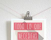 Todo lo que necesitas...