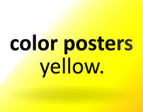 Color Posters - Yellow
