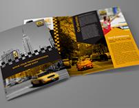 Taxi Services Bi-Fold Brochure Template