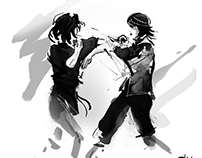 Illustrations Wing Chun