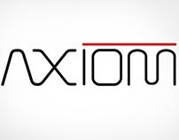Axiom Wheels Brand Identity