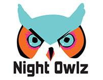 Skate Deck & Apparel for Night Owlz brand concept