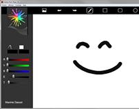 Drawing application / Application de dessin - Flash AS3