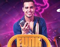 Flyer Party Design Funk Brasil.