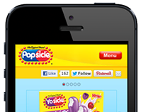 Popsicle Mobile Website