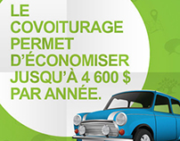 Campagne/Campaign : Covoiturage Outaouais