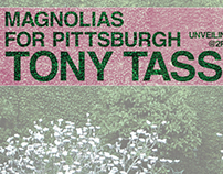 Magnolias for Pittsburgh Poster