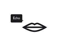 Affiche ECHO, ecole de la voix