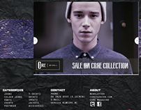menswear  website
