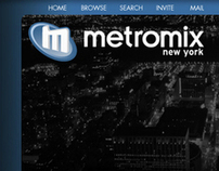 Metromix - social networking design